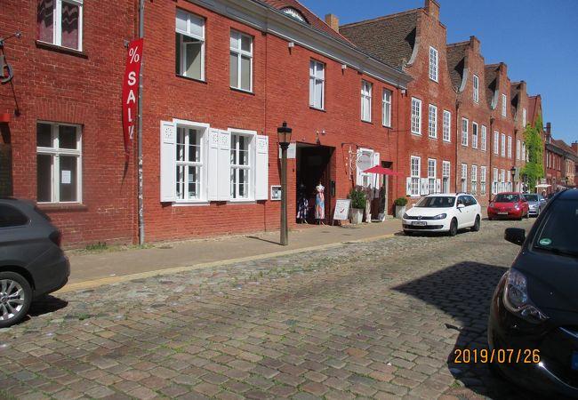 赤煉瓦の街並み