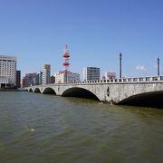 信濃川にかかる橋です。