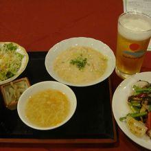 夕食 中華料理