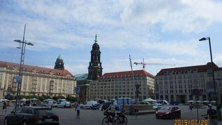 ドレスデンの原点と言われる広場