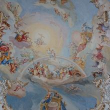 フレスコ天井画