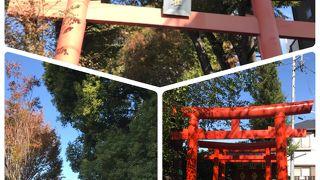 神楽坂の神社