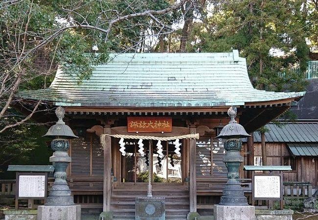 歴史のある神社、横須賀観光でいいです