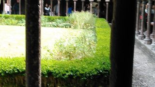モンサンミッシェル修道院 回廊