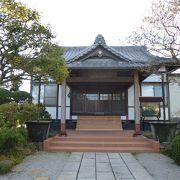 千葉氏ゆかりのお寺です