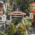 写真:八坂神社 祇園神水