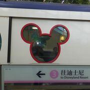 電車もディズニー