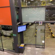 サンセバスチャンのバスターミナル