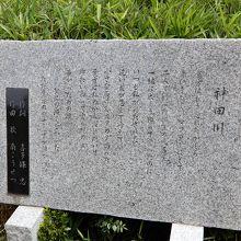 神田川歌碑