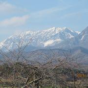 岡山県から見ても素敵な山です