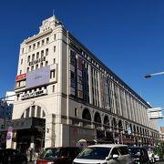 浅草駅の上のショッピングセンター