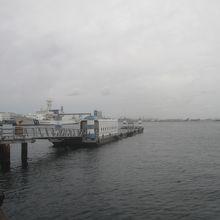 ピア赤レンガ桟橋