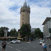 現存する城壁の見張り塔