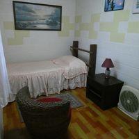 1階の私のシングルルーム、十分な広さ