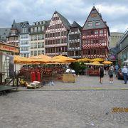 レーマー広場を囲む古い街並み