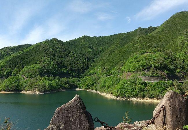 新緑で心洗われる風景