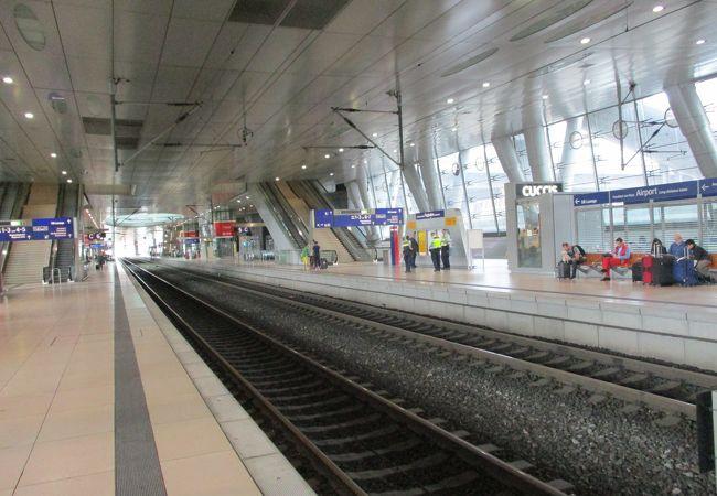 ドイツ各地を結ぶ鉄道網