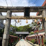 いくつも境内社がある茨木神社