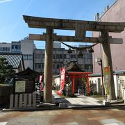 柴田勝家を祀る神社。