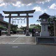 コンクリート造りの神社!