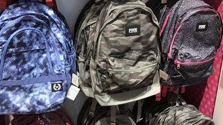 毎年バックパックを買いに行きます
