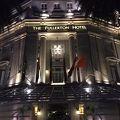 マーライオンに一番近いホテル。重厚な雰囲気