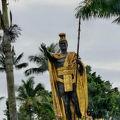 カメハメハ大王像がある