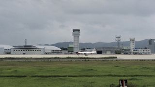 初めての米子空港
