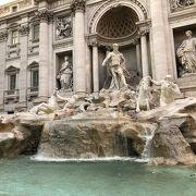 言うまでもなく、ローマで有数の観光名所…