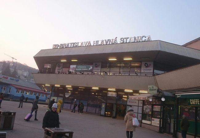 ブラチスラヴァ中央駅