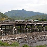 嵐山観光の中心