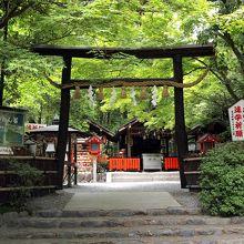 嵯峨野の隠れた神社