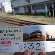 一日乗車券がありました
