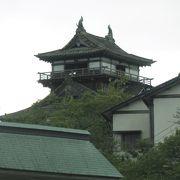 日本最古の現存天守閣!
