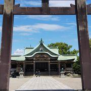 大阪城本丸の南側