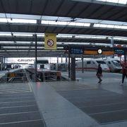 ドイツ全土を走る鉄道