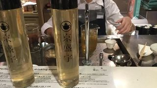 京盛宇のお茶がテイクアウトできます♡