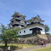大洲のお城!