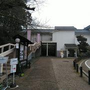 復元された櫓の中の展示館