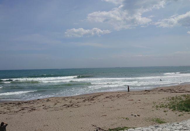 サーフィンをしている方がいました