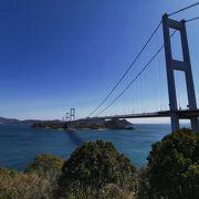 来島海峡と大橋