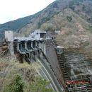 井川ダム堰堤