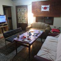 共用スペース。テレビはNHKワールドの視聴も可。