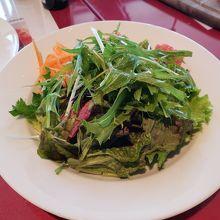 ランチセットのサラダです。