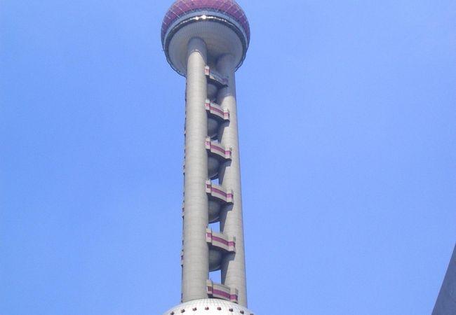 中国って感じのタワー