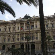 パラッツォ ディ ジュスティツィア 正義の宮殿 (最高裁判所)