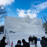 2019年 マイナス13度の極寒の中で見る大迫力の雪像