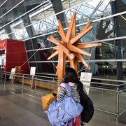 新空港になって国際スタンダードな空港になりました