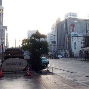 岡山駅前のメインストリート