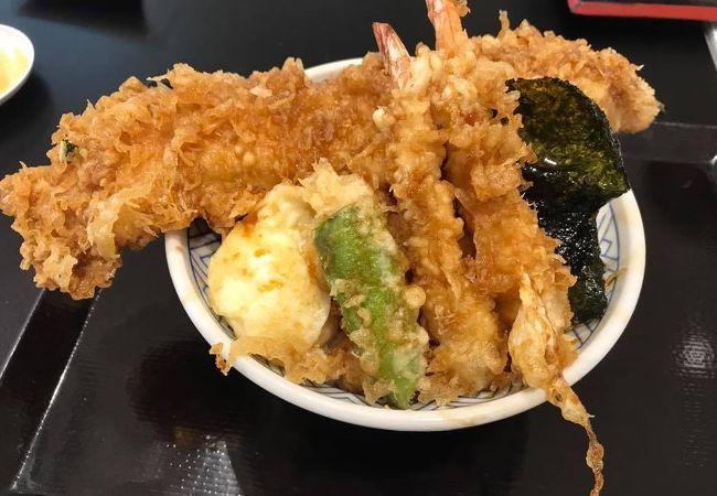 日本橋 天丼 金子半之助 川崎ラゾーナ店